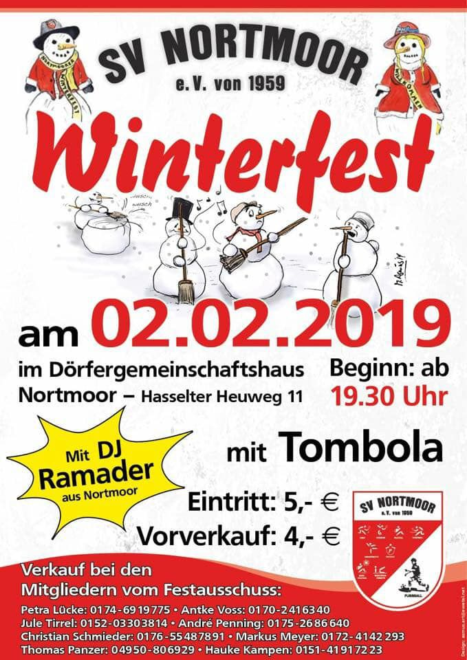 Winterfest SV Nortmoor